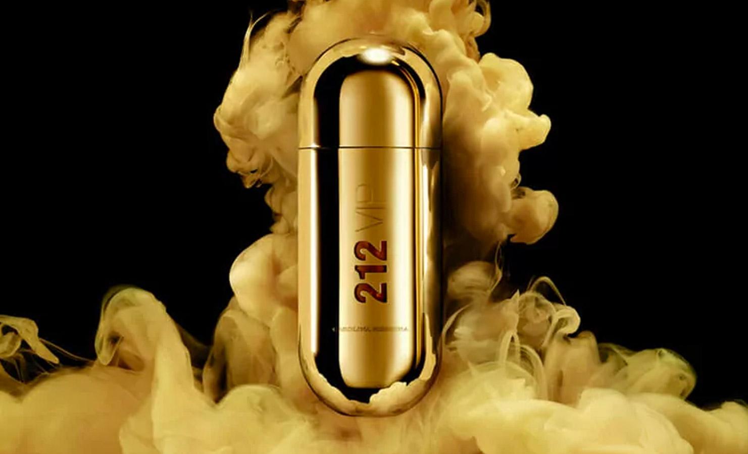 عطر ۲۱۲ vip گلد